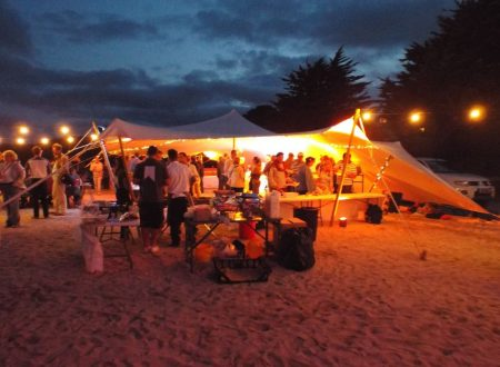 Agile on the beach event