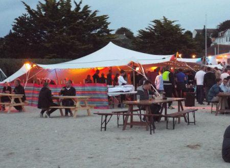 Gylly beach, Falmouth, Agile on the beach event