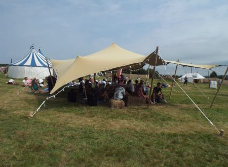 8 x 10m stretch tent