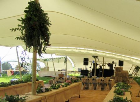 Stretch tents Cornwall
