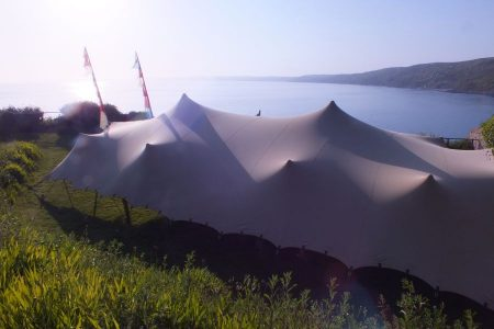 10 x 15m stretch tent Cornwall