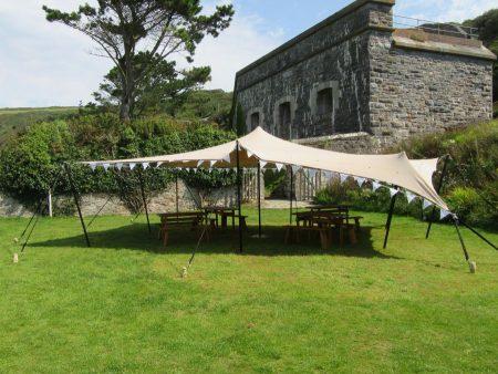 6 x 8m stretch tent