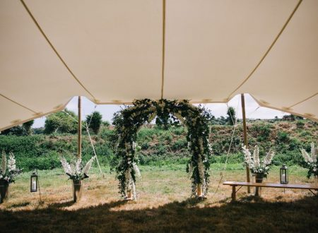 Wedding Ceremony at Kestle Barton